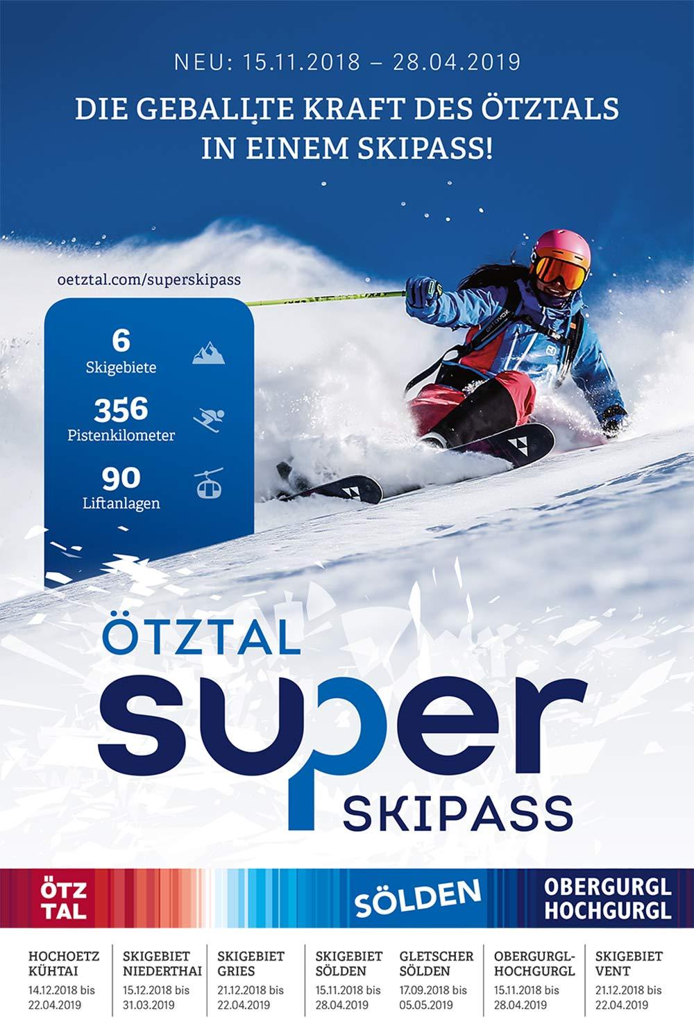 Der neue Ötztal Super-Skipass