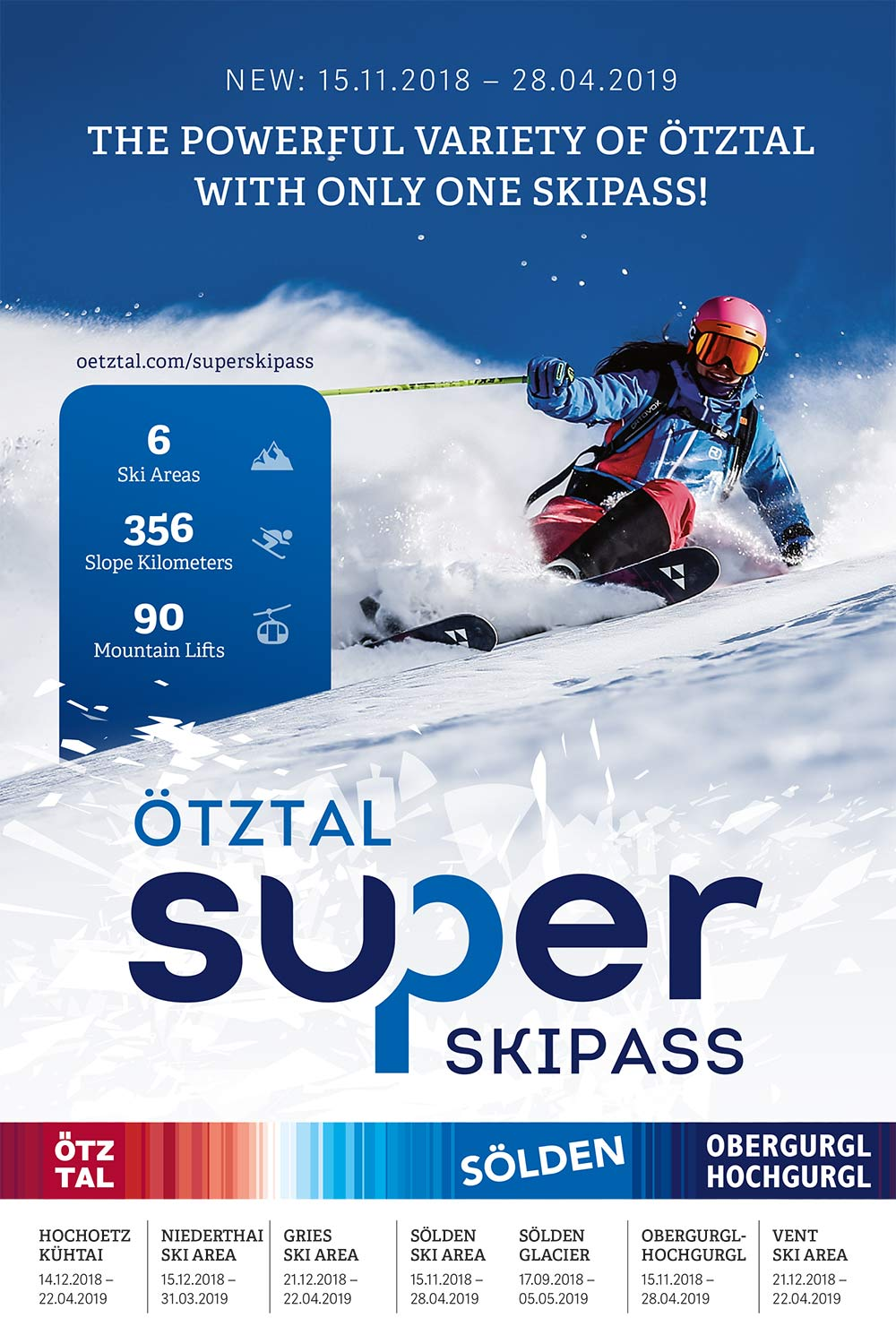 The new Ötztal Super Ski Pass