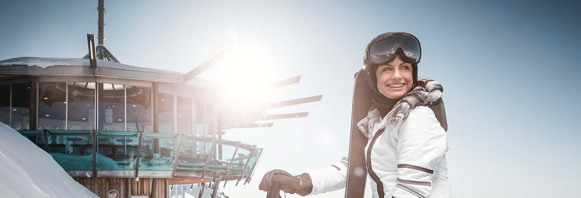 TOP Mountain Star im Skigebiet Obergurgl Hochgurgl Ötztal Tirol Austria